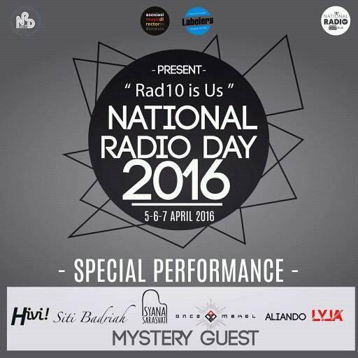 AMDI – Labelers dan National Radio Day