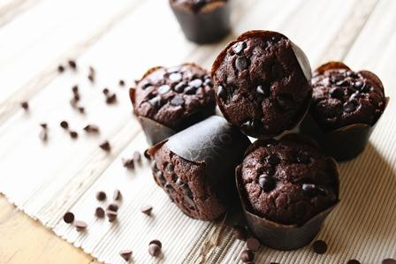 Bananas Chocolate Muffin